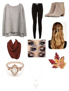 """""""Fall is in the air"""" by kileighgrace ❤ liked on Polyvore featuring Augusta, Natasha Accessories, Croft & Barrow and BEA"""