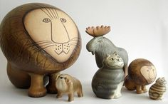 Always a big fan on Lisa Larsson work. Her cat series is a must get for cat lover.