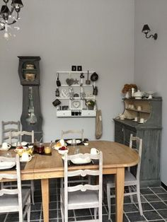 Déco salle a manger beige/gris | Ideas for the House | Pinterest ...