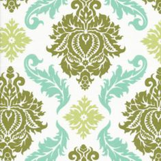 Joel Dewberry - Aviary 2 - Damask in Dill - just bought this...not sure what I'll make with it - a purse?