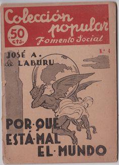 Por qué éstá mal el mundo, Colección popular. Mercado de la tía Ni, Sabarís, Baiona. Libros de segunda mano, libros antiguos.