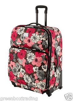 642be0a77c New Vera Bradley Rolling Luggage 27