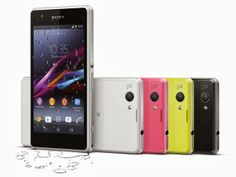 Sony anuncia o smartphone Xperia Z1 Compact
