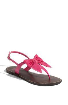 bow sandals, so adorable! Bow Sandals, Cute Sandals, Cute Shoes, Me Too Shoes, Dream Shoes, Crazy Shoes, Zapatos Shoes, Shoes Heels, Shoe Closet