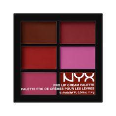 Pro Lip Cream Palette| NYX Cosmetics