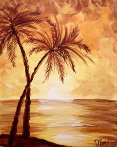 Hawaiian Sunset Paint Cellar