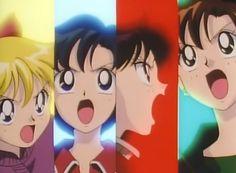 Sailor Scouts Sailor Moon Screencaps, Sailor Scouts, Fantasy, Anime, Art, Art Background, Kunst, Cartoon Movies, Fantasy Books