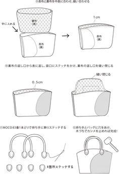 マリメッコバッグ。手づくりレシピをご紹介しています。そーいんぐ.comは、手づくりファンのための情報サイトです。 Bags, Japanese Language, Purses, Taschen, Totes, Hand Bags, Bag, Handbags, Pocket