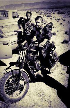 #steve mcqueen#Triumph Motorcycles