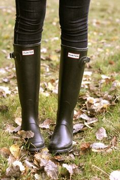 The Essential: Hunter Wellington Boots | South Molton St Style