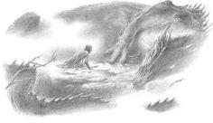 misshobbit:  The Death Of Glaurung - by Alan Lee