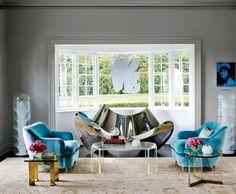 Quelle couleur pour un salon contemporain ?