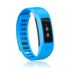 Richermall H6 Bluetooth Smart Watch with Wireless Fitness Pedometer Tracker Sleep Monitor Smart bracelet bands for All IOS Android Smartphones (Blue). Please note: This bracelet watch support bluetooth 4.0 Android 4.3 or Above Android Smartphones, and IOS 7.0 or Above Apple iPhone& BT 4.0 system. Function: Watch function, time display, incoming call notice, camera remote, video remote, find phone, Lost warning, out of range alarm, All day tracking:Step counting,distance,calorie, Sleep...
