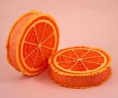 Pinata naranja decoración 1 fiesta frutal Tutti fiesta