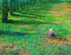 artist Iris-Scott  finger paint