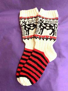 Ravelry: Designs by Katja Makkonen Fair Isle Knitting, Ravelry, Knitting Patterns, Stockings, Wild Animals, Design, Fashion, Socks, Loom Knit