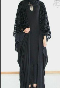 Arab Fashion, Islamic Fashion, Muslim Fashion, Modest Fashion, Fashion Dresses, Muslim Dress, Hijab Dress, Abaya Designs Latest, Estilo Abaya