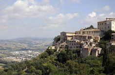 10 Secret Places in Italy: Todi, This medieval village features a historical main square, the Piazza del Popolo, which is surrounded by a 12th-century chapel and other ancient camera-worthy buildings. Climb the tower of the Church of St. Fortunato to enjoy panoramic views of Todi and the surrounding countryside.