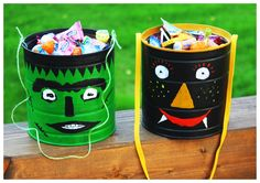 Halloween, Sammeleimer, Sollectin-Can, DIY