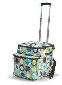 Minty Chip Making Memories Thermal Tote ~hostess exclusive.  Let's arrange your party - www.mythirtyone.com/amwilder