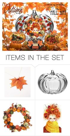 """Peering Through A Crystal Pumpkin"" by justjacy ❤ liked on Polyvore featuring art"