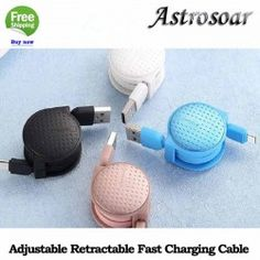 ASTROSOAR High-quality Adjustable Retractable Fast Charging Type-c