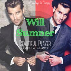 Will Sumner, Beautiful Player by Christina Lauren. [Model: Jannik Wilke]