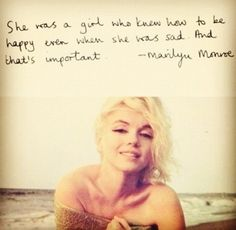 actually some good words of wisdom, marilyn by verna