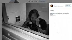Gary L Camp cameraman for The Librarians Day 5 behind bars pic #BTS of shooting Season 2  June-2015