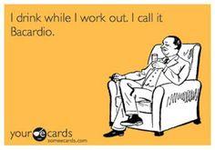 new fitness trend...barcardio?