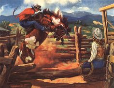 """The Outlaw"" Cowboy Art, Western Cowboy, Cowboy Pictures, Cowboy Pics, Cowboys And Indians, Le Far West, Pretty Horses, Horse Art, Rodeo"