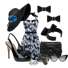 Derby Day, created by snippins on Polyvore