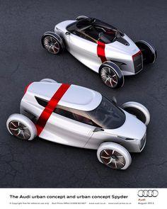 Urban Audi Spyder concept #audi #design #car