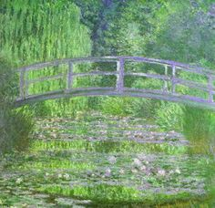 Monet's Japanese foot bridge