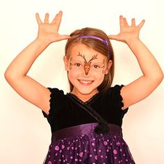 Reindeer (girl) - HolidayFace Paint Ideas - How to Face Paint | Snazaroo