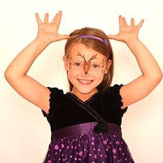 Reindeer (girl) - HolidayFace Paint Ideas - How to Face Paint | Snazaroo