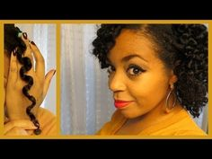 Heatless Waves on Natural Hair- Style Tutorial | Curly Nikki | Natural Hair Styles and Natural Hair Care
