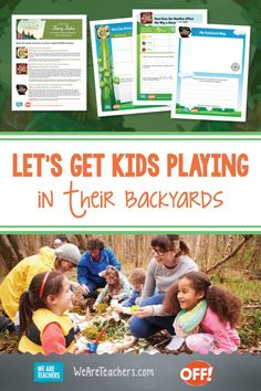 These Never Starting Tales Lessons Help Get Kids Outside to Learn. These Never Starting Tales free lessons, activities, and worksheets help kids get outside to learn as they connect to fairy-tale character's adventures. Minecraft Activities, Activities For Boys, Writing Activities, Teaching First Grade, First Grade Teachers, At Home Science Experiments, Lego Challenge, American Children, Outdoor Learning