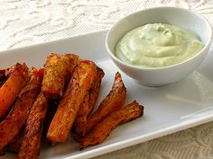 I liked this, but I'm not crazy about sweet potatoes and the dip was good but lacked a little flavor for my taste.  Will make again but with some tweaks.