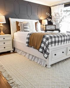 Love Your Home, My Dream Home, Dream Bedroom, Home Decor Bedroom, Bedroom Ideas, Bedroom Inspiration, Ranch, Farmhouse Style Bedrooms, Modern Farmhouse