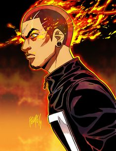 All-New Ghost Rider: Robbie Reyes by FelipeSmith.deviantart.com on @DeviantArt