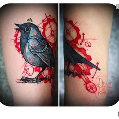 Bird tattoo