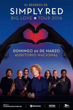 """Simply Red """"Big Love Tour"""" en el Auditorio Nacional"""