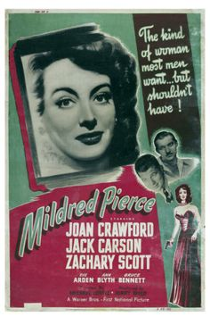 Joan Crawford as the world's most enabling mother!