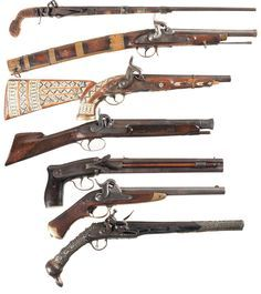 peashooter85: A very interesting lot of antique muzzleloading pistols found on Rock Island Auctions.  Strange indeed. http://www.rockislandauction.com/viewitem/aid/1020/lid/1690