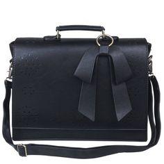 2c0e0c0b504cf ECOSUSI Vintage Damen Schultasche Arbeitstasche Aktentasche Laptoptasche  14