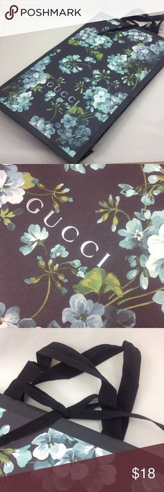 Spotted while shopping on Poshmark: Gucci floral paper bag! #poshmark #fashion #shopping #style #Gucci #Accessories