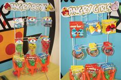 Creative Angry Birds Birthday Party