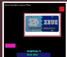 House divided license plate 190317 - The Best Image Search