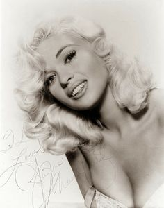 Jayne Mansfield - insanely beautiful! Even thought Jayne is known for her physical attributes, the fact is Jayne came from educated people(Bryn Mawr, Pa) and had quite a high IQ herself to be honest. She went to college in Texas before being discovered by scouts. (1933-1967)